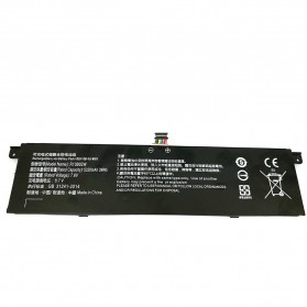 HZHSD Baterai Laptop Xiaomi Mi Air 13.3 Inch 7.6V 39Wh 5320mAh - R13B01W R13B02W - Black