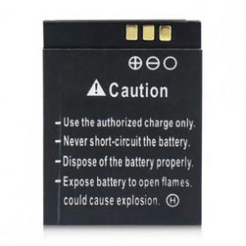 Baterai & Charger Action Camera - Baterai Smartwatwch DZ09 QW09 W8 A1 V8 X6 380mAh - RYX-NX9 - Black