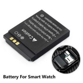 Baterai Smartwatwch DZ09 QW09 W8 A1 V8 X6 380mAh - RYX-NX9 - Black - 2