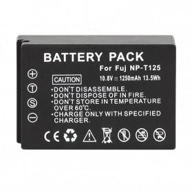 Eeyrnduy Baterai Kamera Fujifilm NP-T125 1250mAh - Black - 2