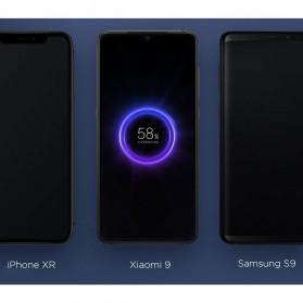 Xiaomi Qi Wireless Charging Power Bank USB Type C 10000mAh (Replika 1:1) - PLM11ZM - Black - 7