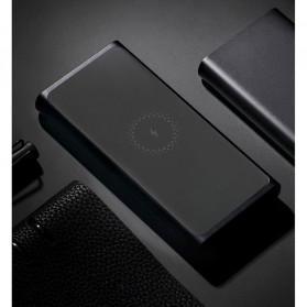 Xiaomi Qi Wireless Charging Power Bank USB Type C 10000mAh (Replika 1:1) - PLM11ZM - Black - 9