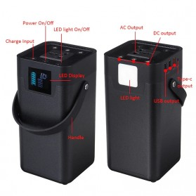 BPI Portable Outdoor Emergency Power Supply Station 200W 54600mAh - BPI-OD200 - 3