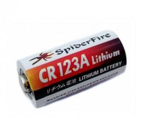 DEAH Baterai CR123A Non-Rechargeable Li-ion Battery 1300mAh 3V 1PCS - CWGM123A - White