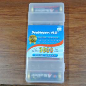 Doublepow Transparent Battery Case for 8 x AA - Transparent