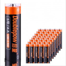 DOUBLEPOW Baterai Alkaline AA UM-3 R6 1.5V 4 PCS - 2