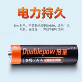 DOUBLEPOW Baterai Alkaline AA UM-3 R6 1.5V 4 PCS - 5