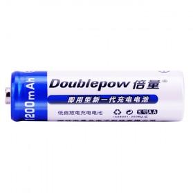 DOUBLEPOW Batu Baterai Alkaline AA Rechargeable 1200mAh 6 PCS