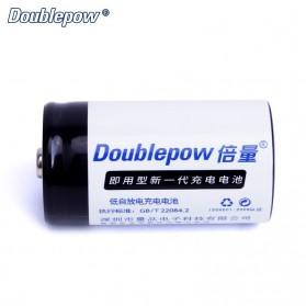 DOUBLEPOW Baterai Cas D Rechargeable Ni-MH 1.2V 10000mAh 2PCS - White - 3
