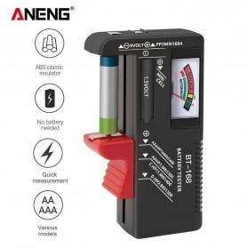 ANENG Tester Baterai Capacity Checker AA AAA Display Analog - BT-168 - Black - 2