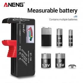 ANENG Tester Baterai Capacity Checker AA AAA Display Analog - BT-168 - Black - 3