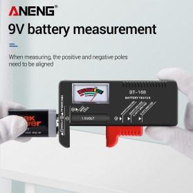 ANENG Tester Baterai Capacity Checker AA AAA Display Analog - BT-168 - Black - 4