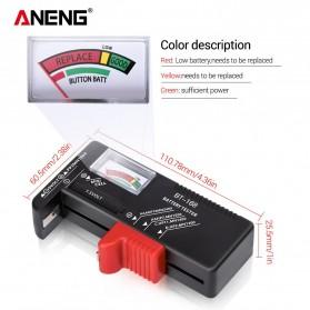 ANENG Tester Baterai Capacity Checker AA AAA Display Analog - BT-168 - Black - 6