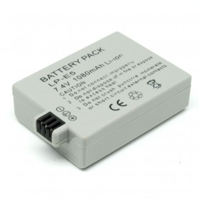 Baterai Camera Canon LP-E5 Battery - Gray
