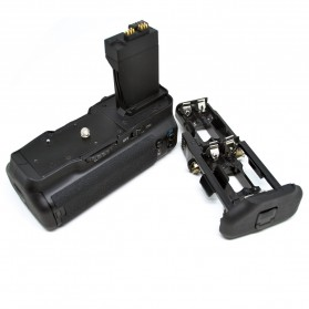 Battery Grip for Canon EOS 550D/600D/650D/700D - BG-E8 - Black