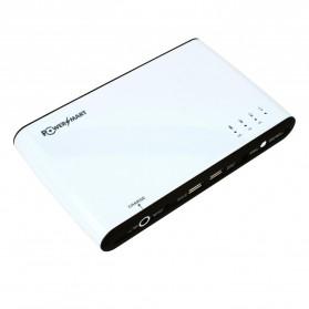 Power Smart Universal External Battery for Digital Camera PDA Laptop Computer - 27000mAh - Black