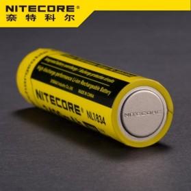 NITECORE 18650 Rechargeable Li-ion Battery 3400mAh 3.7V - NL1834 - Black/Yellow - 3