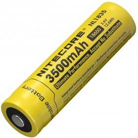 NITECORE 18650 Baterai Li-ion 3500mAh 3.6V - NL1835 - Black/Yellow - 2