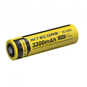 NITECORE 18650 Baterai Li-ion 3200mAh 3.7V - NL1832 - Black/Yellow