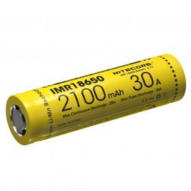 NITECORE IMR18650 Baterai Vape 2100mAh 30A 3.7V - Yellow