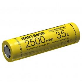 NITECORE IMR18650 Baterai Vape 2500mAh 35A 3.7V - Yellow