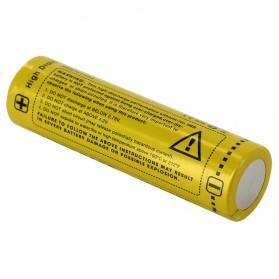 NITECORE IMR18650 Baterai Vape 2600mAh 40A 3.7V - Yellow - 3