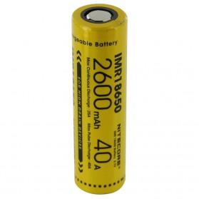 NITECORE IMR18650 Baterai Vape 2600mAh 40A 3.7V - Yellow - 4