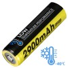 NITECORE 18650 Baterai Li-ion Low Temperature 2900mAh 3.6V - NL1829LTP - Black/Yellow