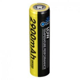 NITECORE 18650 Baterai Li-ion Low Temperature 2900mAh 3.6V - NL1829LTP - Black/Yellow - 2