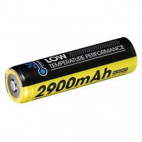 NITECORE 18650 Baterai Li-ion Low Temperature 2900mAh 3.6V - NL1829LTP - Black/Yellow - 3