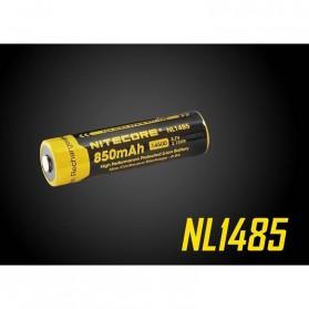 NITECORE 14500 Baterai Li-ion 850mAh 3.7V - NL1485 - Black/Yellow - 2