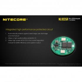 NITECORE 18650 Micro USB Rechargeable Li-ion Battery 3500mAh - NL1835R - Black - 6