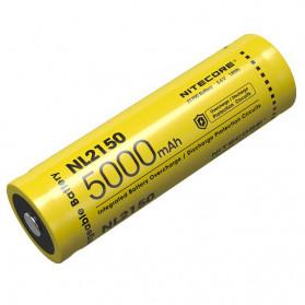 NITECORE 21700 Baterai Li-ion 5000mAh 3.6V - NL2150 - Black/Yellow
