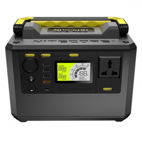 NITECORE Portable Outdoor Power Station 421Wh 117000mAh - NPS400 - Black