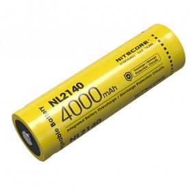 NITECORE 21700 Baterai Li-ion 4000mAh 3.6V - NL2140 - Black/Yellow