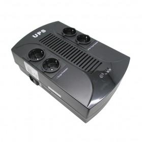 EAST Off Line UPS 650V 390W with LED Display - EA265PLUS - Black
