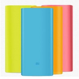 Silicon Case Cover for Xiaomi Power Bank 16000 mAh - Black