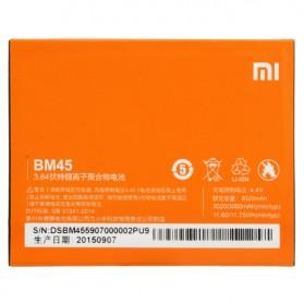 Baterai Xiaomi Redmi Note 2 3020mAh - BM45 (Replika 1:1) - Orange - 2