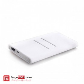 Silicon Case Cover for Xiaomi Power Bank 5000 mAh - White