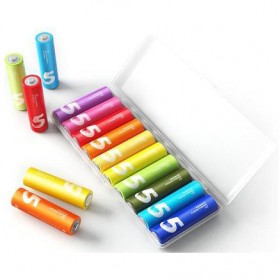 Xiaomi Zi5 Batu Baterai Alkaline AA Battery 10 PCS - Multi-Color