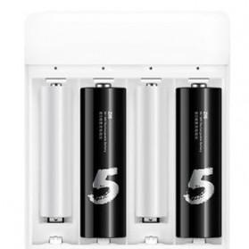 Xiaomi Zi5 Batu Baterai Cas Rechargeable AA 4 PCS - Black - 3