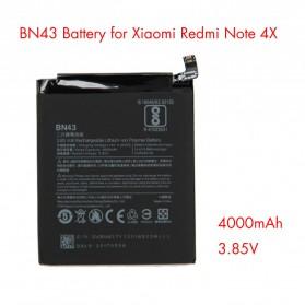 Baterai Xiaomi Redmi Note 4x 3.85V 4000mAh - BN43 (ORIGINAL) - Black - 3