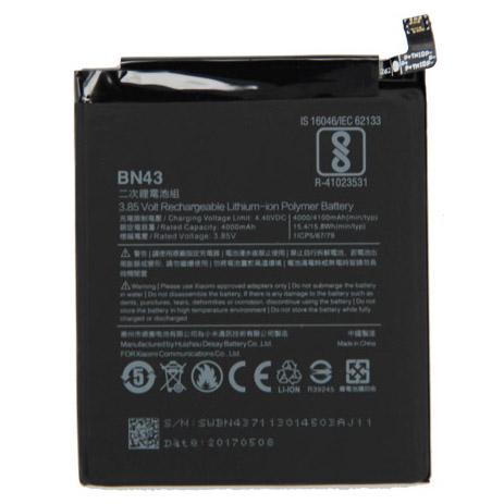 ... Baterai Xiaomi Redmi Note 4x 3.85V 4000mAh - BN43 (ORIGINAL) - Black ...