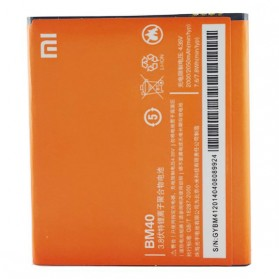 Baterai Xiaomi Redmi 2A 3.8V 2030mAh - BM40 (ORIGINAL) - Orange - 2