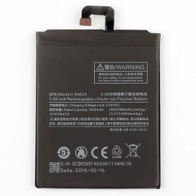 Baterai Xiaomi Mi Note 3 3.8V 3300mAh - BM3A (ORIGINAL) - Black