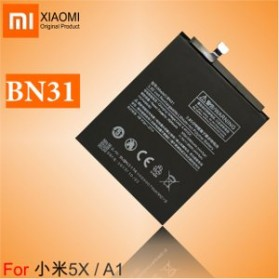 Baterai Xiaomi Mi A1/5x 3.8V 3000mAh - BN31 (ORIGINAL) - Black - 3
