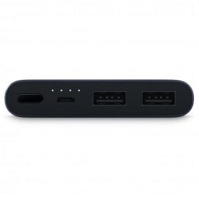 Xiaomi Power Bank 10000mAh 2nd Generation 2 USB Port (ORIGINAL) - Silver - 2