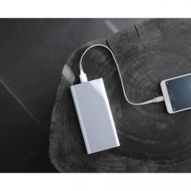 Xiaomi Power Bank 10000mAh 2nd Generation 2 USB Port (ORIGINAL) - Silver - 5
