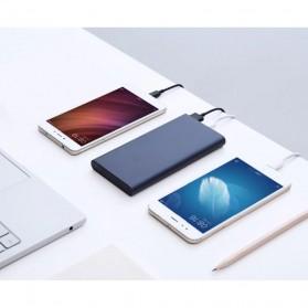 Xiaomi Power Bank 10000mAh 2nd Generation 2 USB Port (ORIGINAL) - Silver - 7