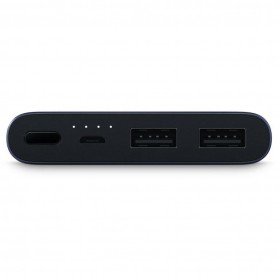 Xiaomi Power Bank 10000mAh 2nd Generation 2 USB Port (Replika 1:1) - Black - 4